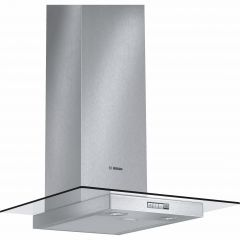 Bosch DWA064W50B 60cm wide, glass canopy, 3 speeds, halogen lights. Recirculating kit: DHZ5325