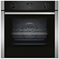 Neff B3ACE4HN0B Slide+Hide® Built In Electric Single Oven