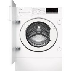 Beko WTIK74151F 7kg 1400 Spin Integrated Washing Machine - White - A+++ Energy Rated