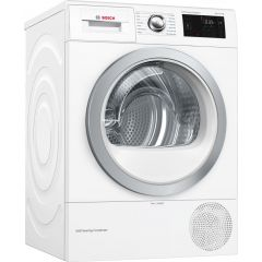 Bosch WTWH7660GB Wifi Connected 9Kg Heat Pump Tumble Dryer