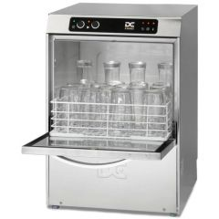 DC SGP40D All Glasswasher With Drain Pump, 400Mm Rack 18 Pint Capacity
