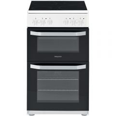Hotpoint HD5V92KCW 50Cm Electric Cooker