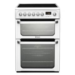 Hotpoint HUE62P 60Cm Cooker