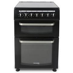 Montpellier TCC60BK 60Cm Twin Cavity Electric Cooker