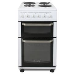 Montpellier TCE51W Electric Cooker 4 Solid Hobs