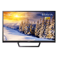 Sony KDL32WE613BU 32` HD Ready HDR SMART TV - Freeview Play - Black - A Rated
