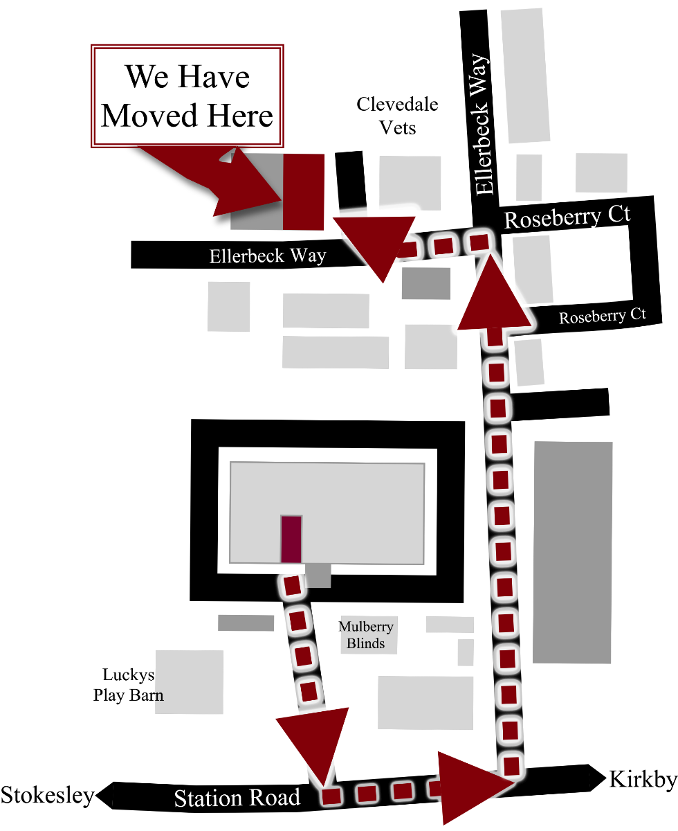 Route to new store