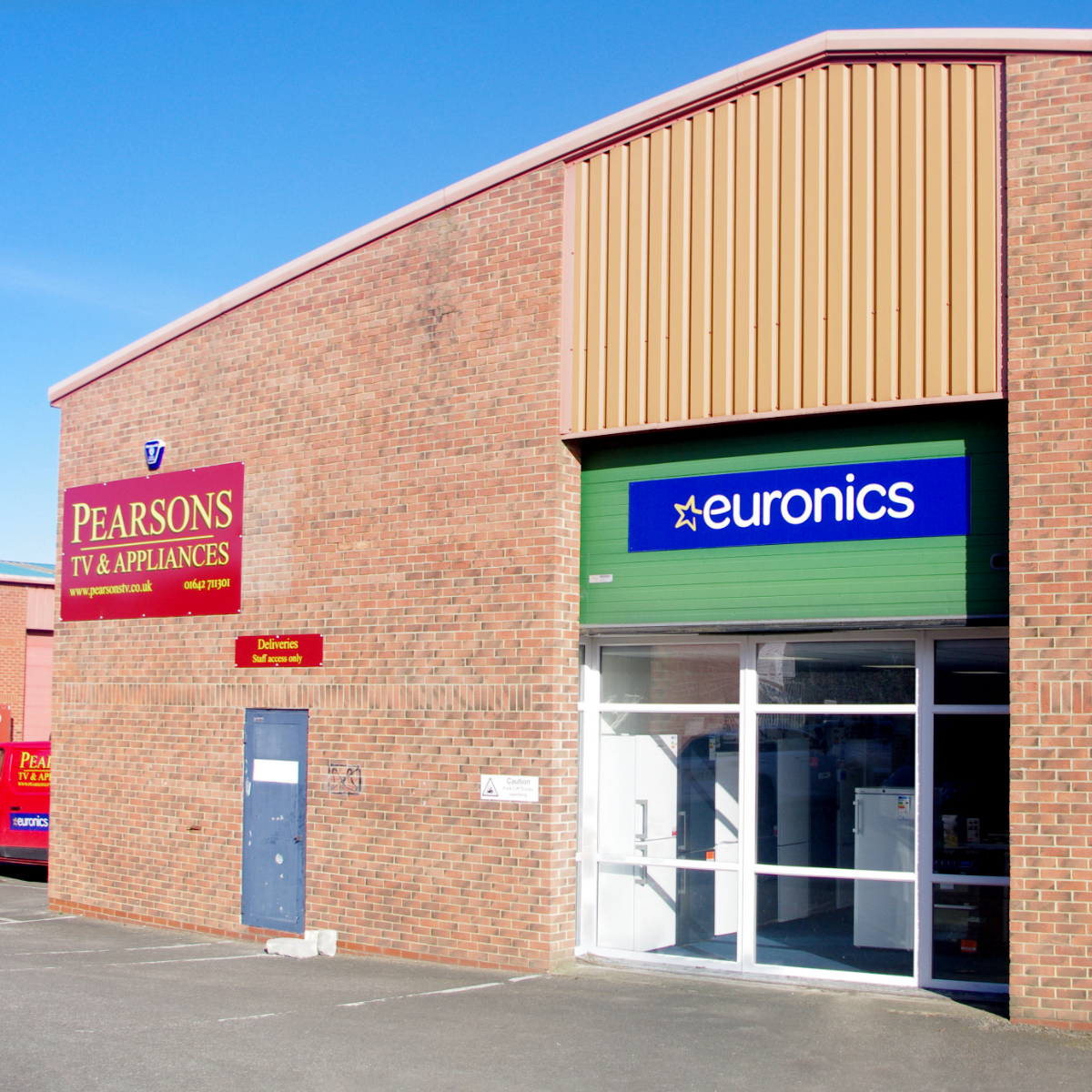Pearsons TV Store Front